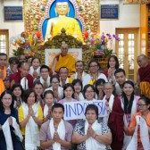 Chandrakirti Retreat with Dalai Lama , 2-6 October 2017, Dharamsala